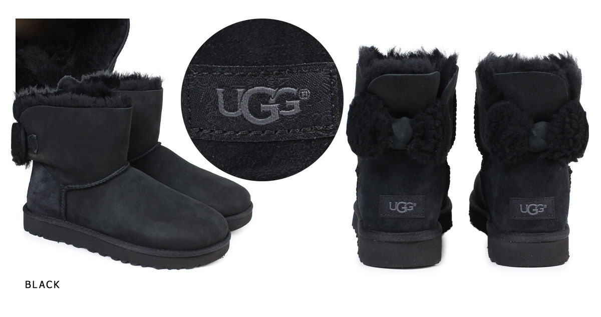 6cd3a9bb017 UGG WOMENS ARIELLE agua re-yell mouton boots Lady's 1019625 sheepskin suede  [11/15 Shinnyu load] [1711]