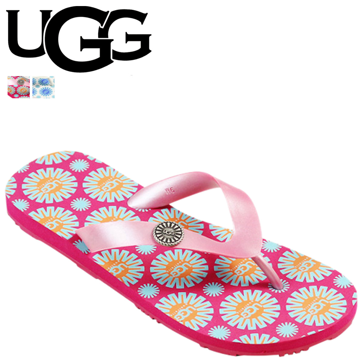 f0ae7eaed77 Point 2 x 2 color UGG UGG women's flare flip flops WOMENS FLARE women's  rubber 2014 SPRING new 1799 [5 / 10 new in stock] [regular] 02P05July14