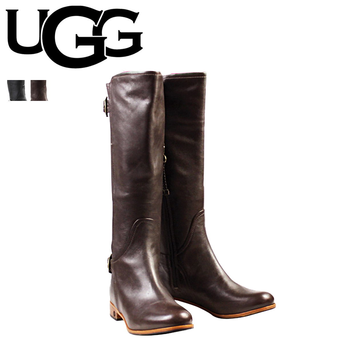 ladies leather uggs boots