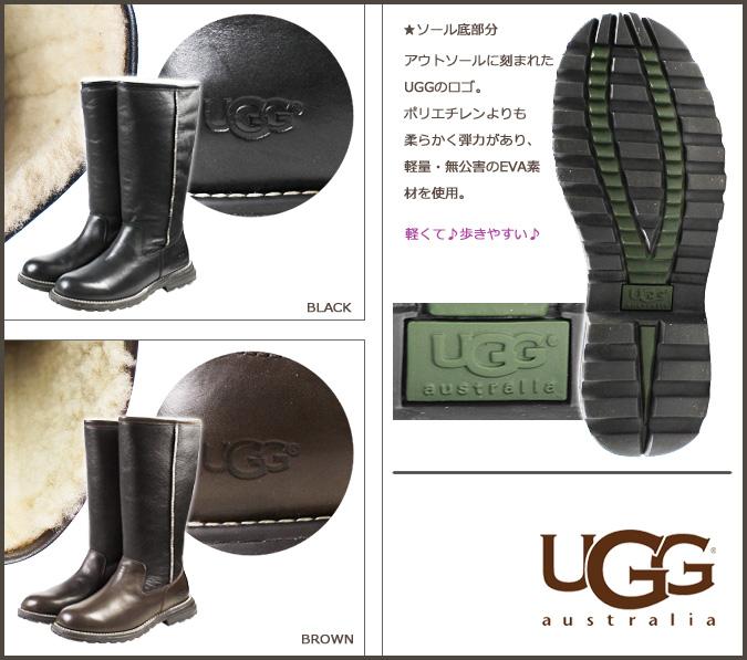 f4e0729e51a4b Point 2 x 2 color UGG UGG women s Brooks tall boots WOMENS BROOKS TALL  Womens Sheepskin new 5490  genuine
