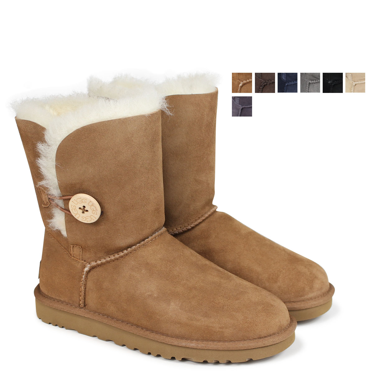 33a69ab8c4d アグ UGG Lady's WOMENS BAILEY BUTTON II mouton boots Bailey button 2 5803  1016226 [178]