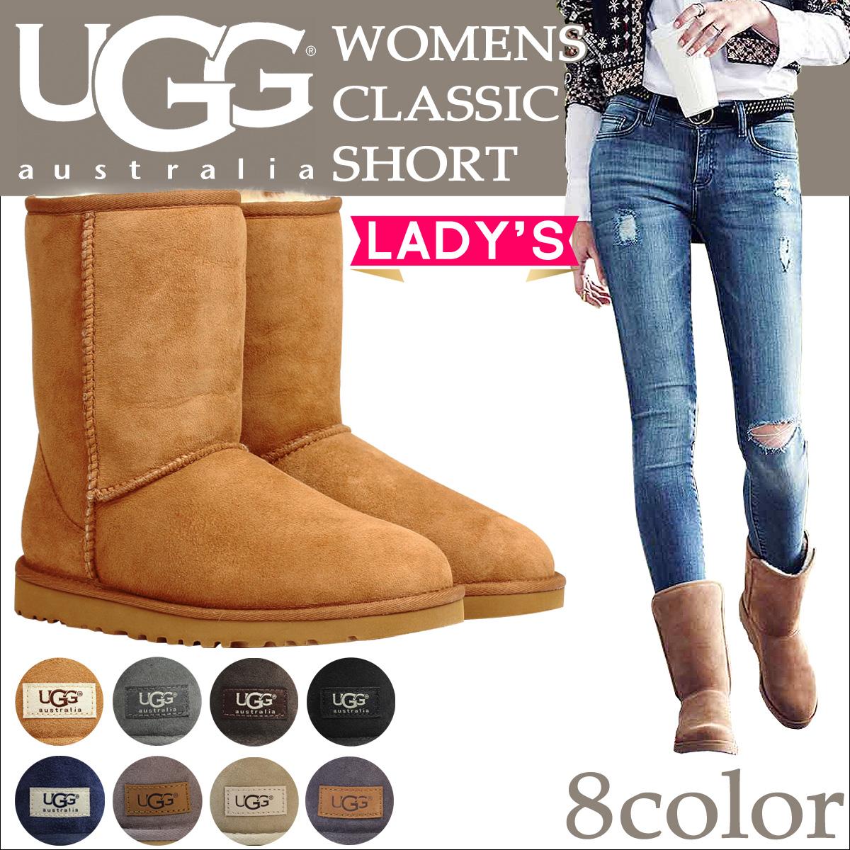 UGG UGG women's classic short Sheepskin boots 5825 WOMENS CLASSIC SHORT ladies FALL 2013 new Sheepskin 43% off!