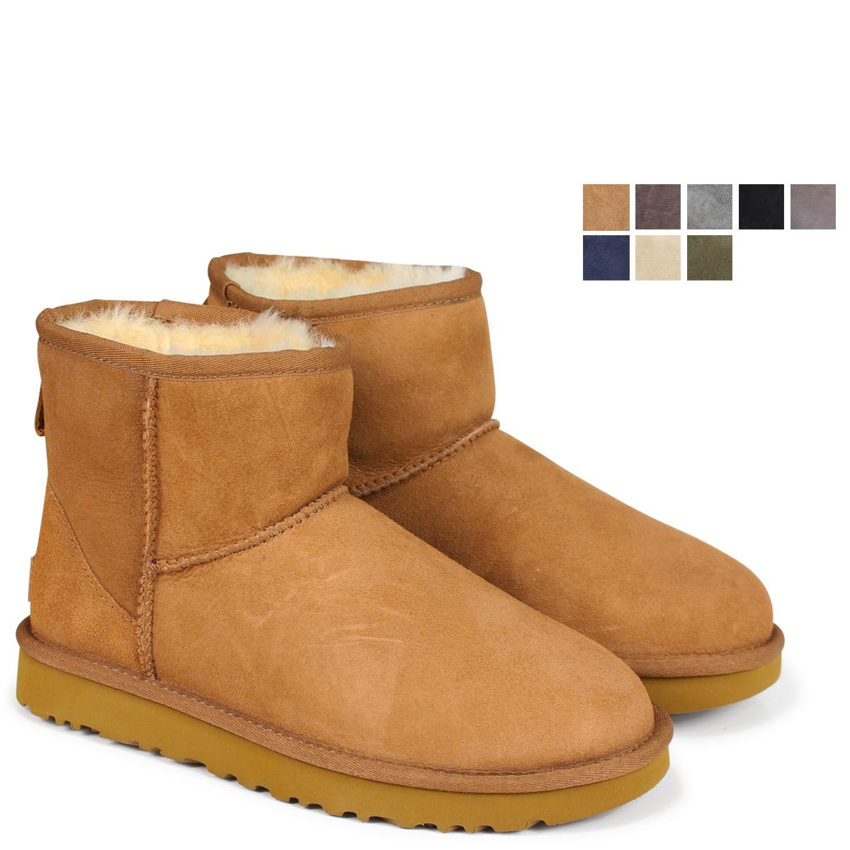 【最大2000円OFFクーポン】 UGG WOMENS CLASSIC MINI II アグ ムートン ブーツ クラシック ミニ 2 5854 1016222 レディース