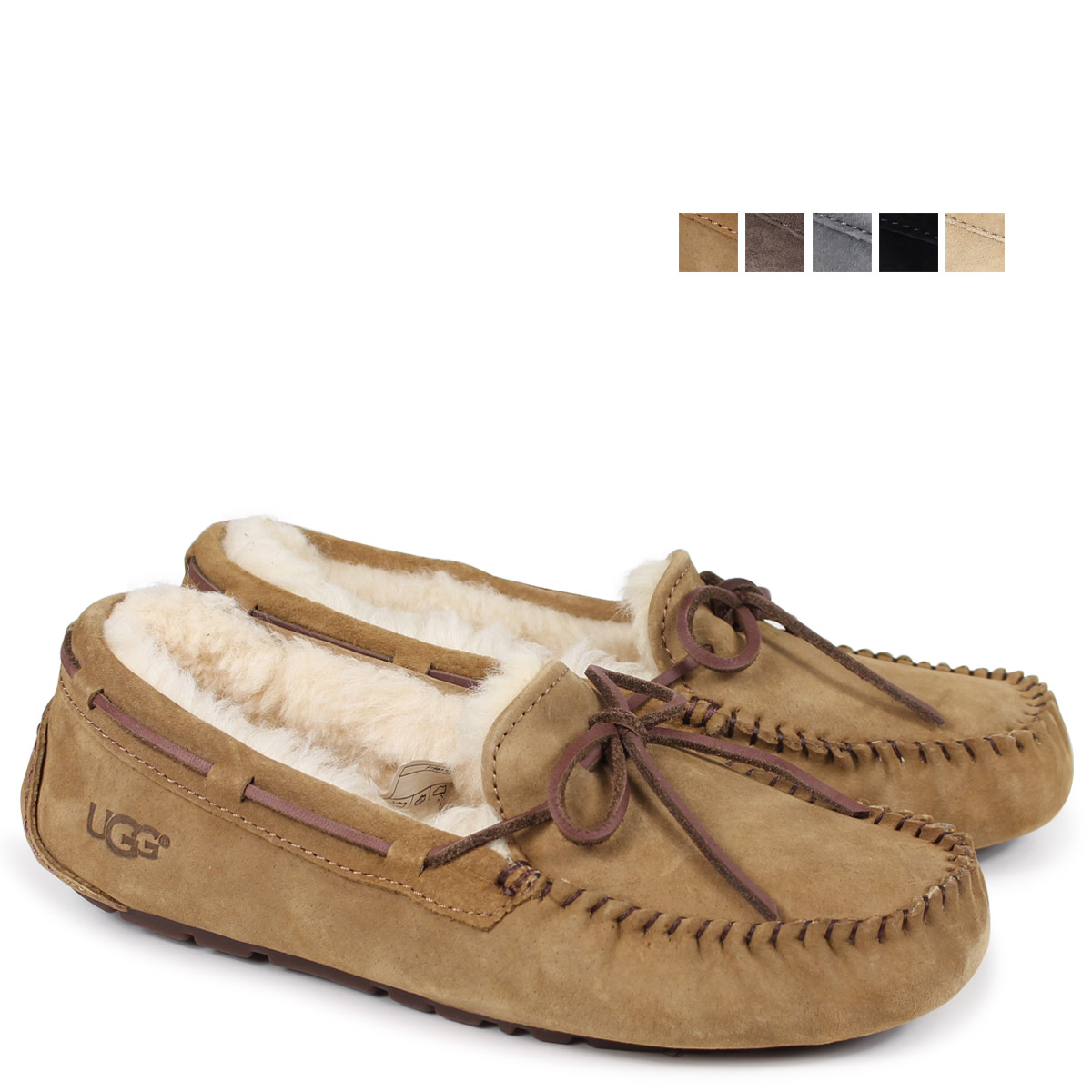 008824d9af19 39% ☆ UGG UGG women s Dakota moccasin footwear 5612 W DAKOTA WOMENS 1001631  Womens FALL 2013 new Mouton Sheepskin