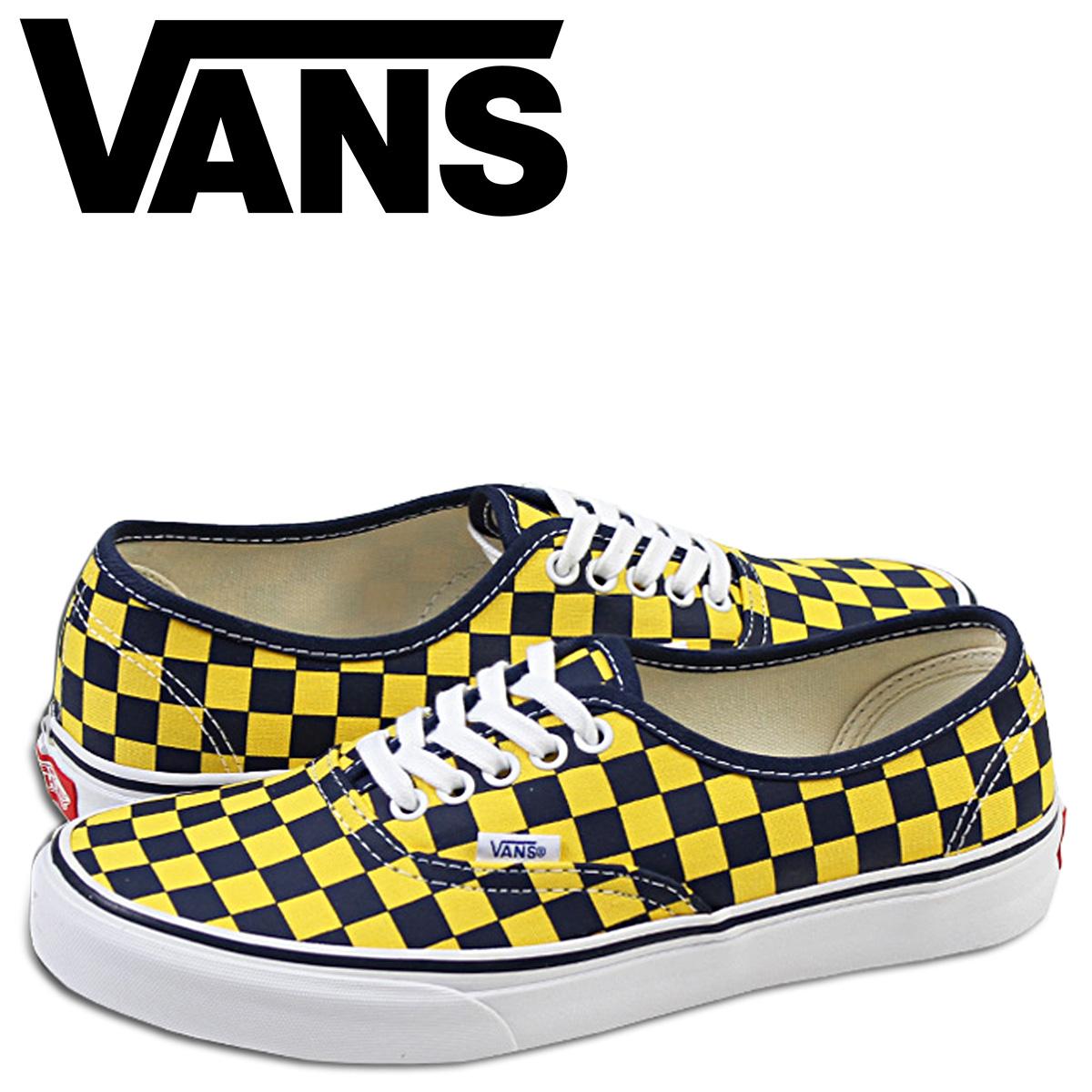 259161c3f3f3 VANS vans authentic sneakers AUTHENTIC GOLDEN COAST VN-0W4NDI2 men shoes  yellow