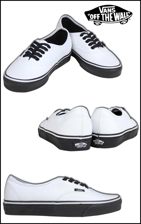 ae7e8799b7a91f VANS vans authentic sneakers AUTHENTIC BLACK SOLE VN-0YS7EOS men gap Dis shoes  white