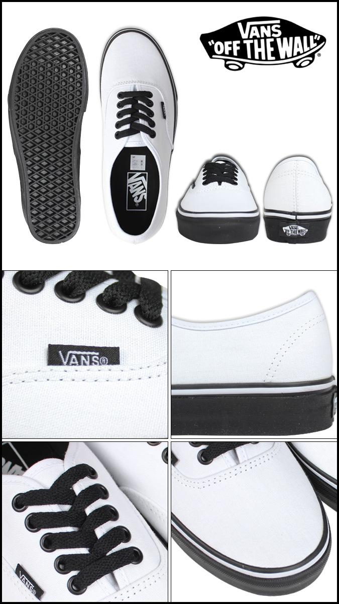 VANS vans authentic sneakers AUTHENTIC BLACK SOLE VN-0YS7EOS men gap Dis shoes  white 02949b9f9