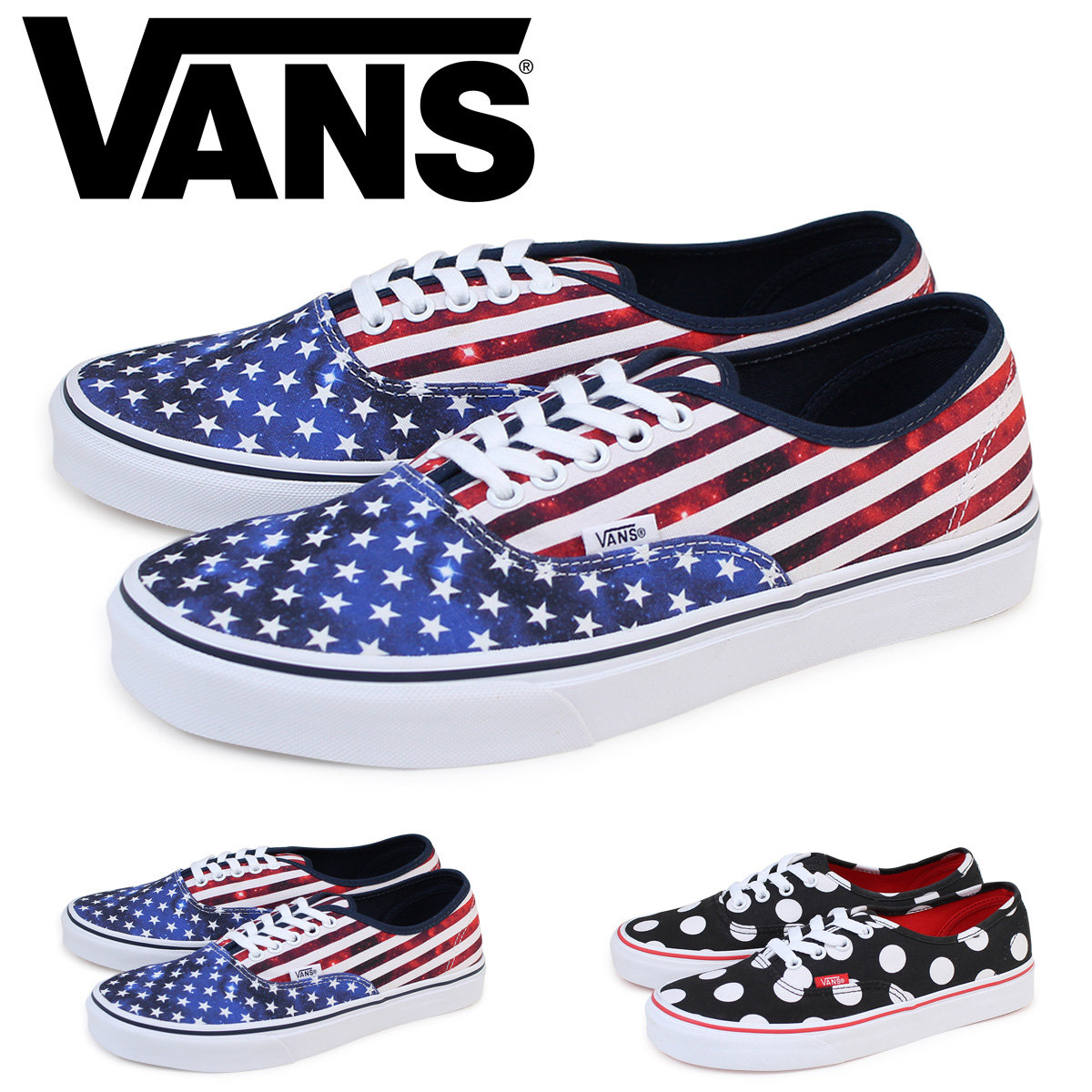 1f9914a6f4 VANS authentic vans slip-ons men sneakers station wagons AUTHENTIC  VN0004MLJOD VN0004MLJPD shoes  1 18 Shinnyu load