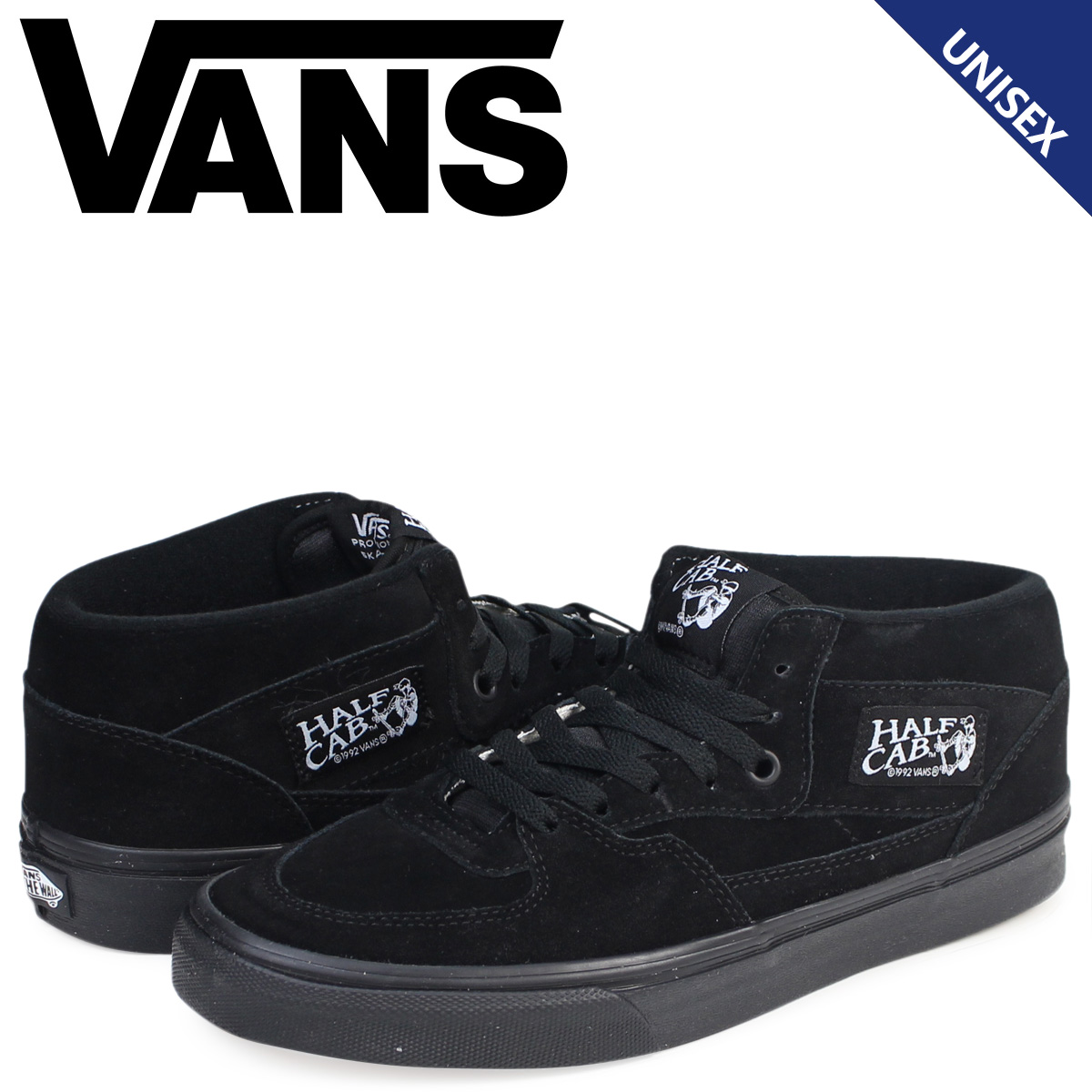 ca29306912 ALLSPORTS  Vans HALF CAB sneakers men gap Dis VANS station wagons ...