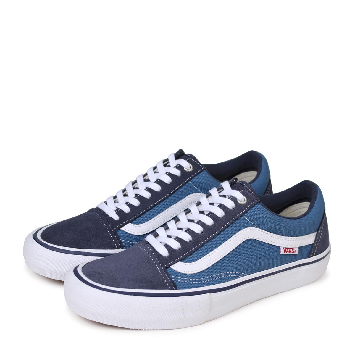 VANS OLD SKOOL PRO old school pro sneakers men gap Dis vans station wagons VN0A38G135U navy