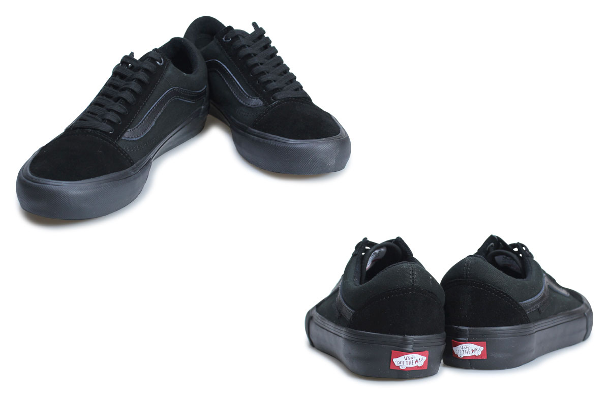 VANS station wagons old school pro sneakers men blackout vans OLD SKOOL PRO VN000ZD41OJ