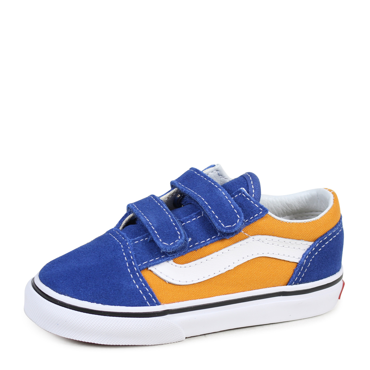 VANS OLD SKOOL V old school baby sneakers vans station wagons VN0A344KQ1B blue [183]