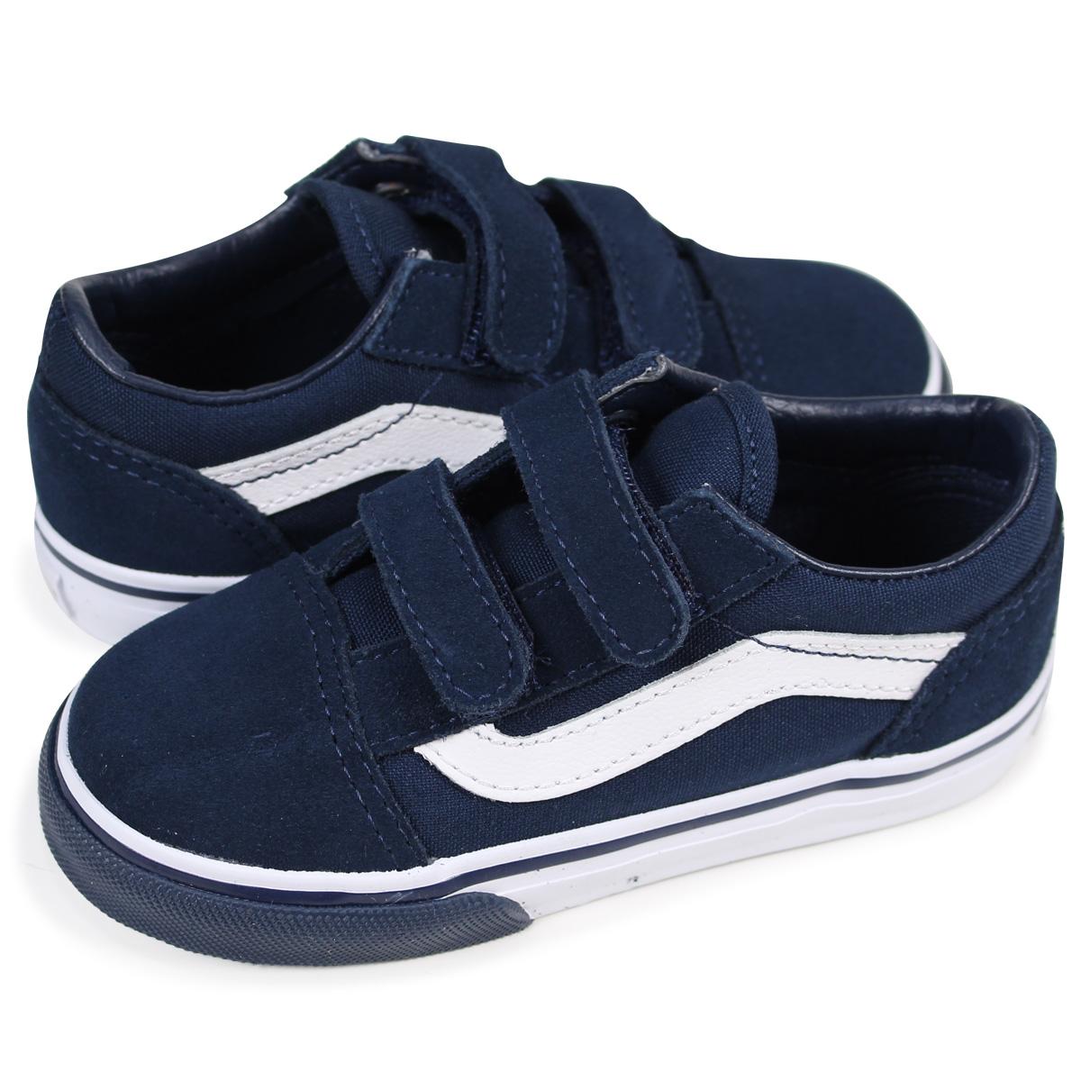 ALLSPORTS  VANS TODDLER OLD SKOOL VELCRO old school sneakers baby ... cee1b6d07