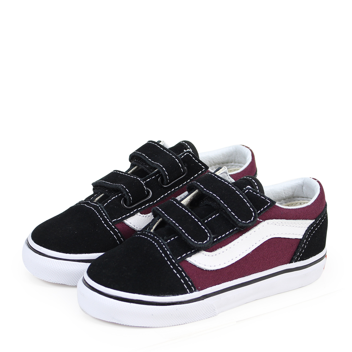 e0c62a8263 VANS OLD SKOOL V old school baby sneakers vans station wagons VN0A344KQ7J  black  3 15 Shinnyu load   183
