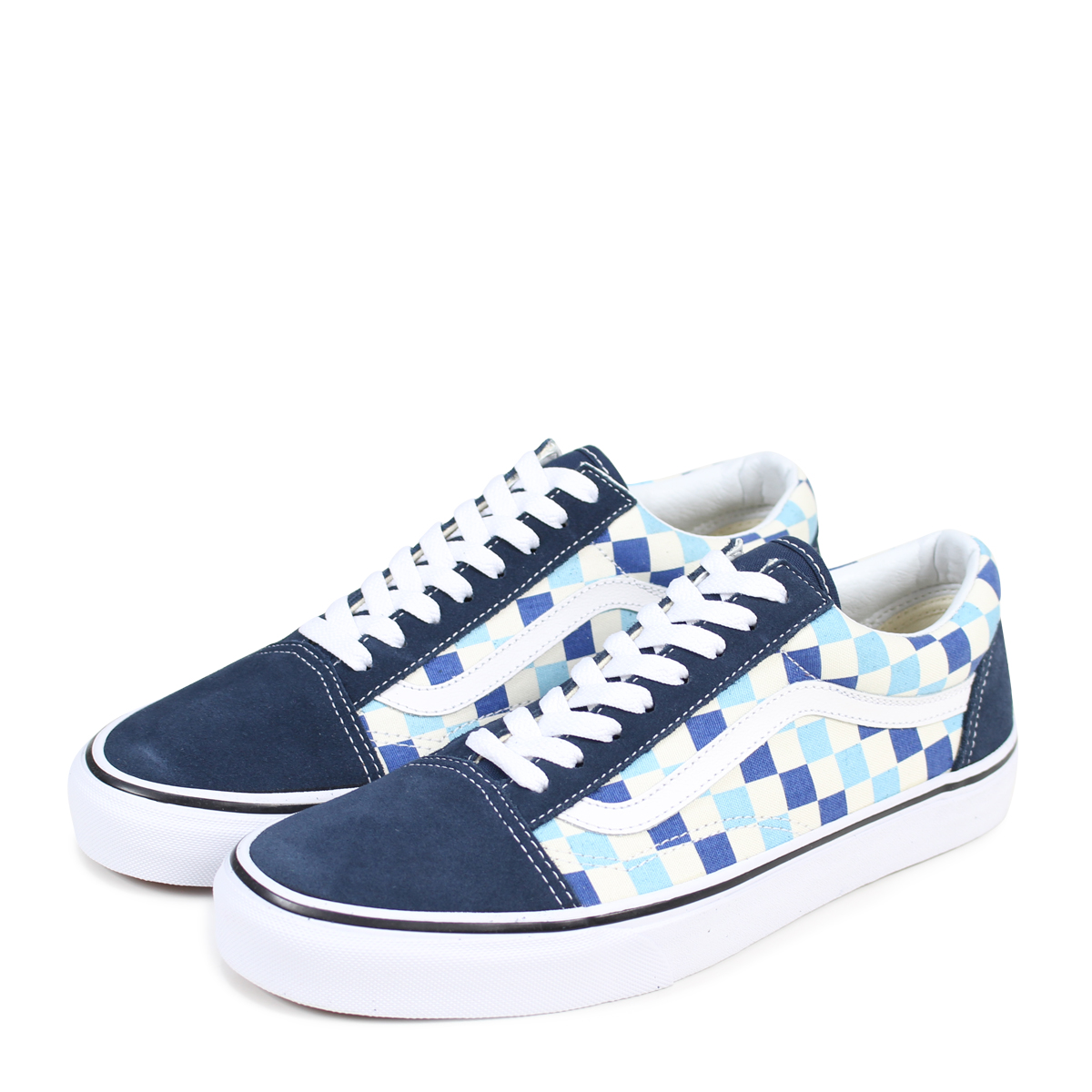 d5579270935 VANS OLD SKOOL old school sneakers men vans station wagons VN0A38G1QCM blue   3 15 Shinnyu load   183