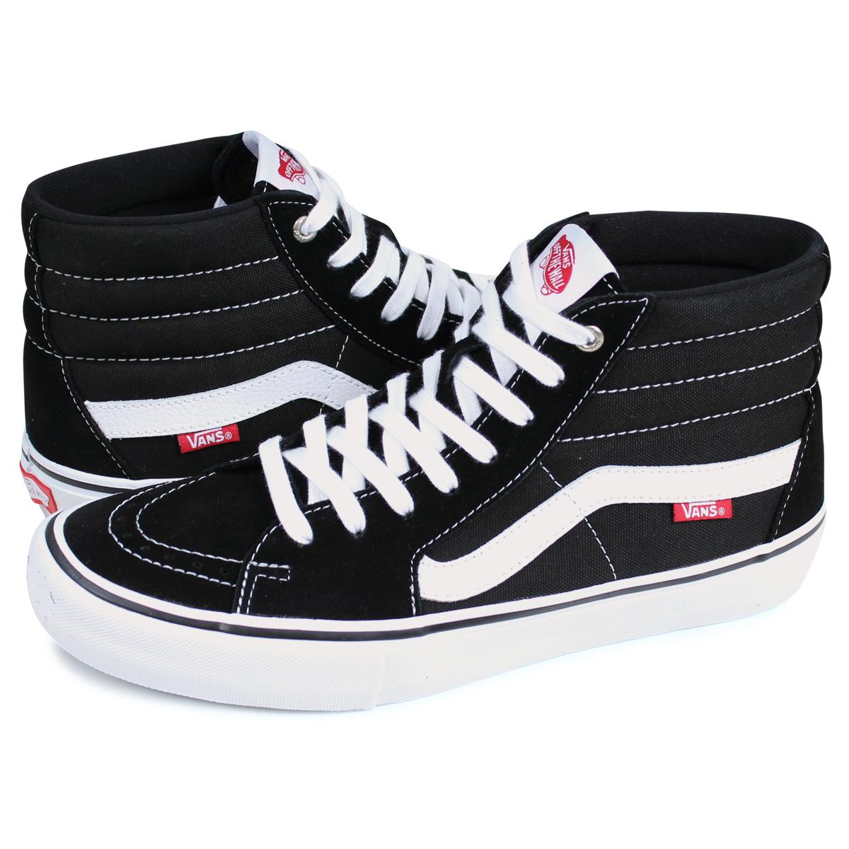 VANS SK8 HI PRO vans sneakers men station wagons skating high black black VN000VHGY28