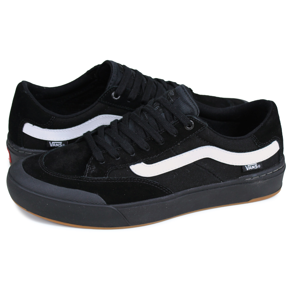 VANS PRO SKATE vans Elijah bar pro BERLE PRO [BLACKBLACKWHITE VN0A3WKXB8C] men suede sneakers black white black and white skateboarding shoes
