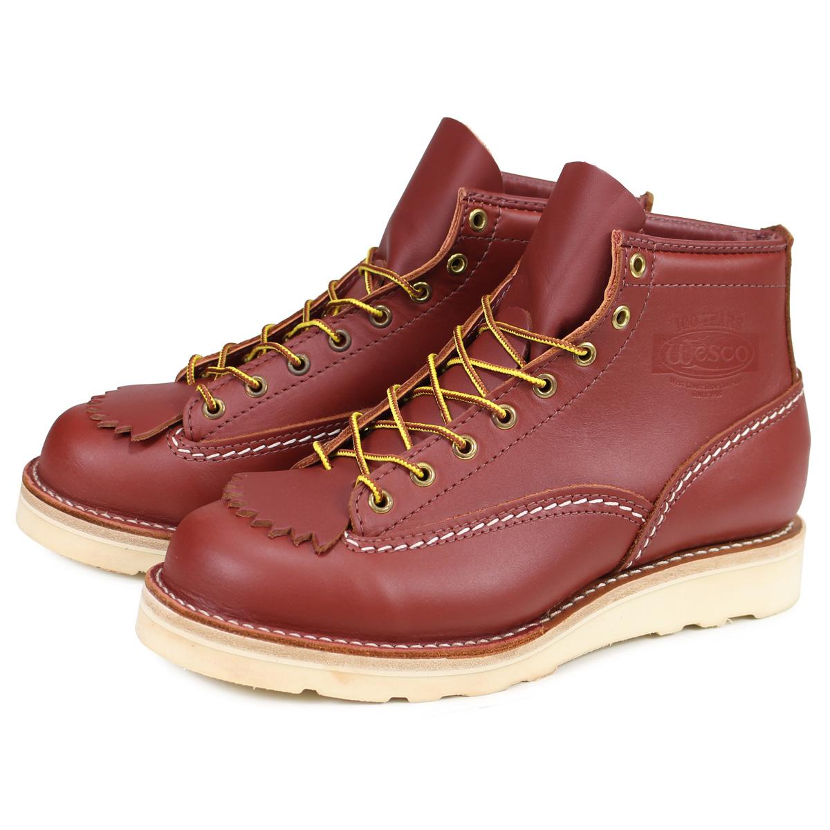WESCO 6INCH CUSTOM JOB MASTER ウエスコ ジョブマスター ブーツ 6インチ カスタム メンズ レザー Eワイズ ブラウン 1061010
