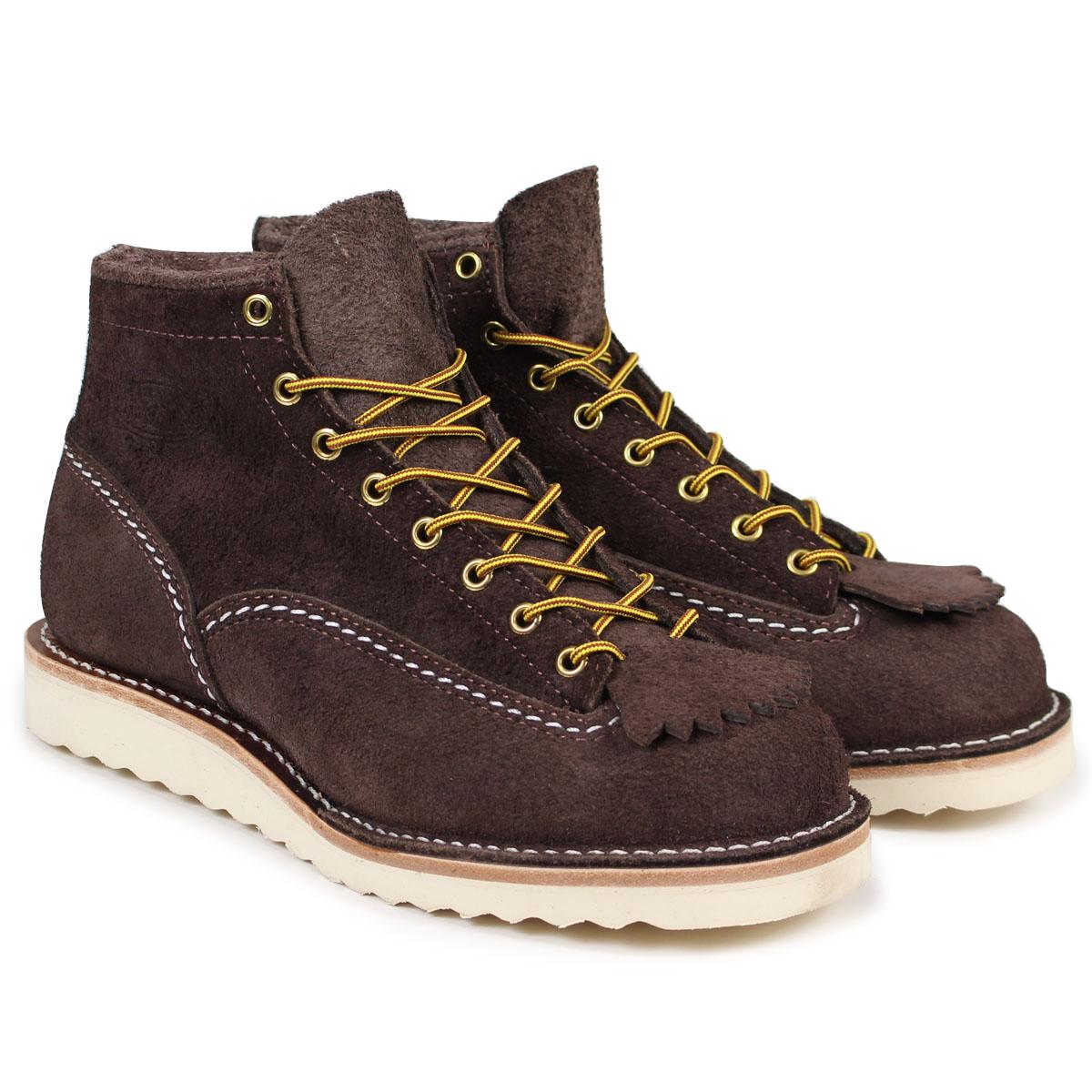 WESCO 6INCH CUSTOM JOB MASTER ウエスコ ジョブマスター ブーツ 6インチ カスタム Eワイズ スエード メンズ ブラウン BR1061010 ウェスコ