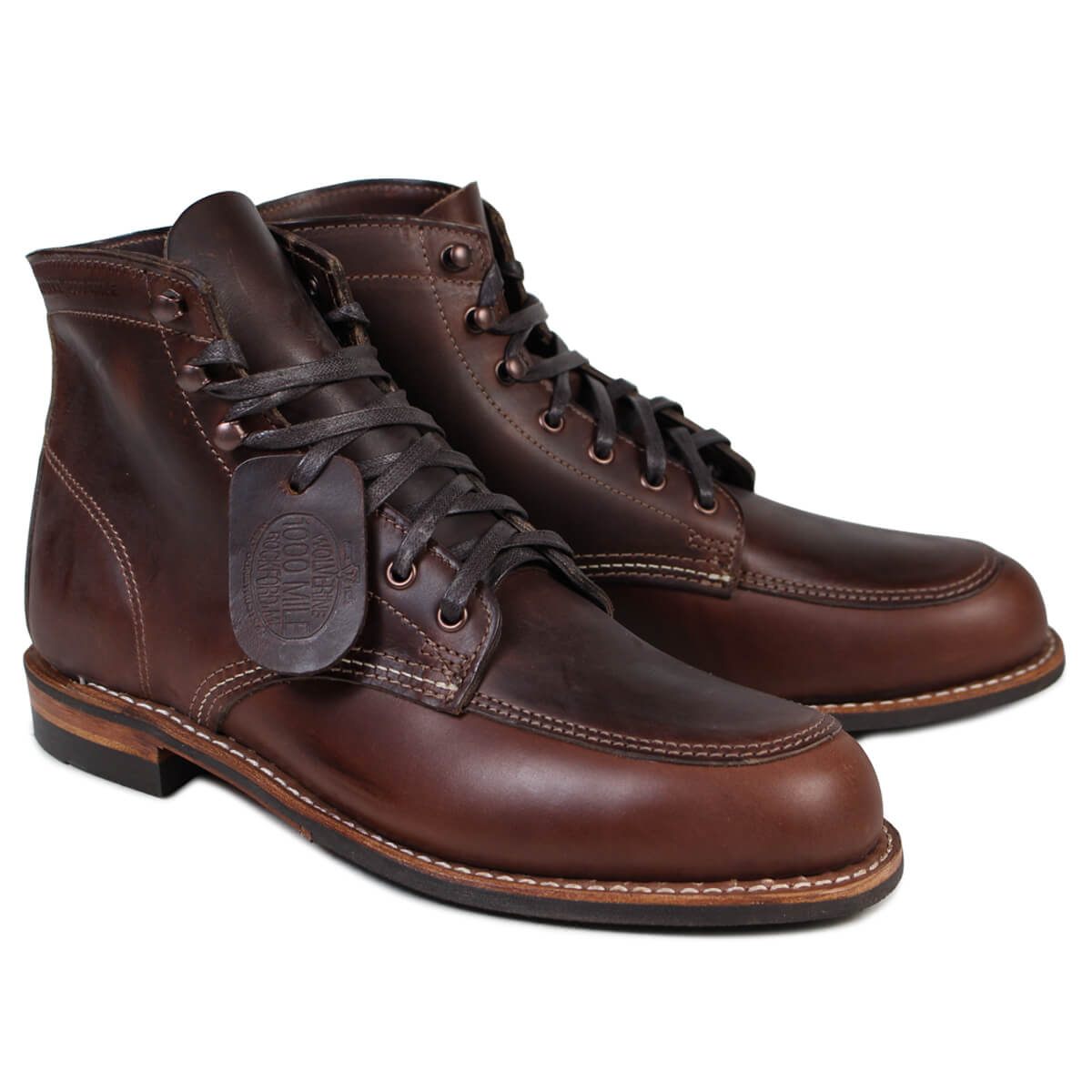 ea16c89b0e6 WOLVERINE 1000 マイルブーツウルヴァリン 1000MILE work boots COURTLAND BOOT D Wise  W00278 brown [172]