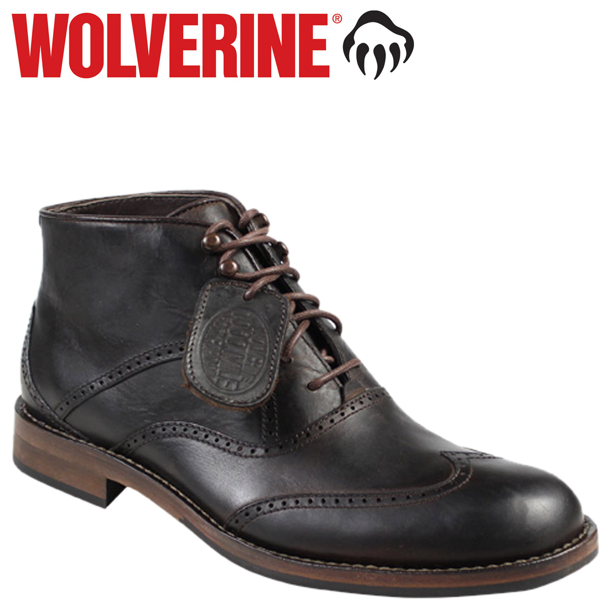 831c4a9ca85 Wolverine WOLVERINE Wesley's 1000 mile wing tip chukka boots WESLEY 1000  MILE WINGTIP CHUKKA BOOT D wise leather mens W05366 Brown [11 / 14 new  stock] ...
