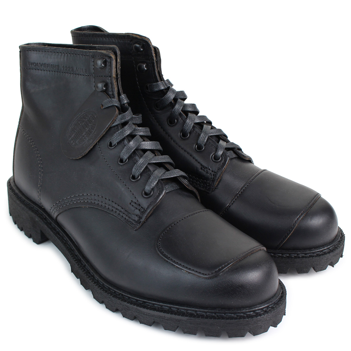 7f5a6018cd1 WOLVERINE 1000 MILE DYLAN MONO BOOT Wolverene 1,000 miles boots men D Wise  W40300 blackwork boots