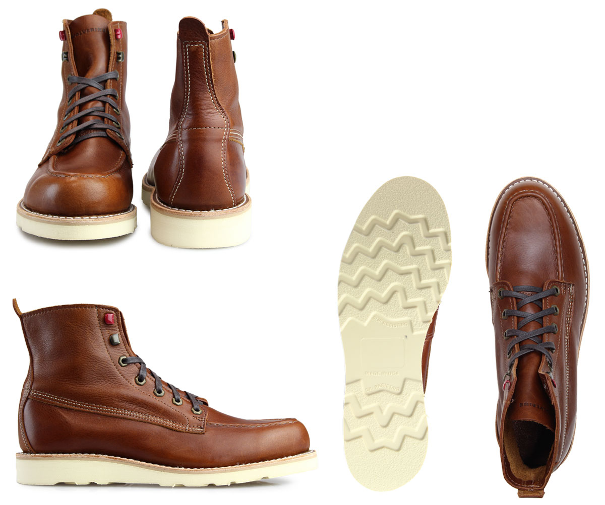 8804186891c WOLVERINE LOUIS WEDGE BOOT ウルヴァリンブーツメンズ D Wise W40411 brown work boots [192]