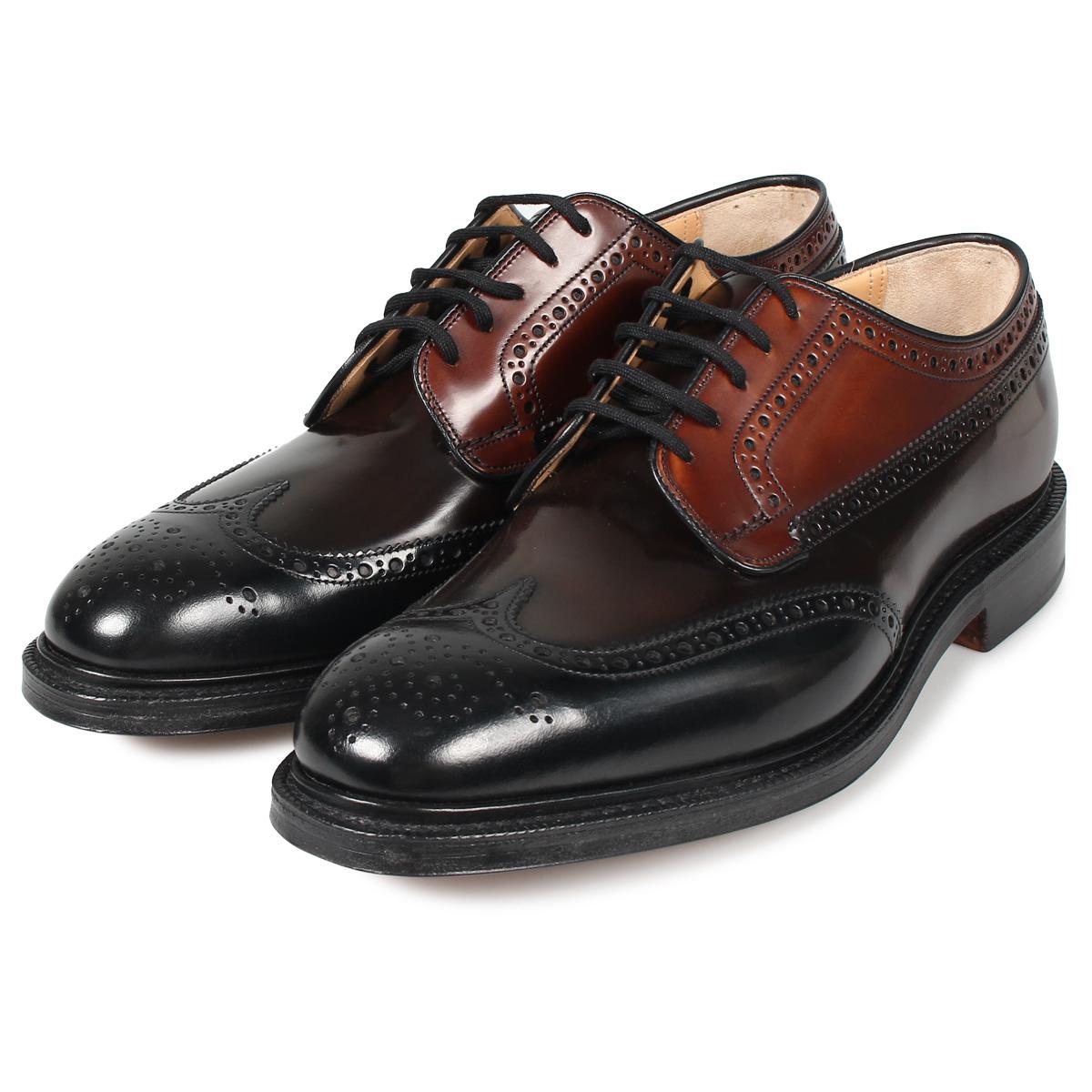 Churchs GRAFTON チャーチ グラフトン ウイングチップ 靴 シューズ メンズ ブラック 黒 EEB009