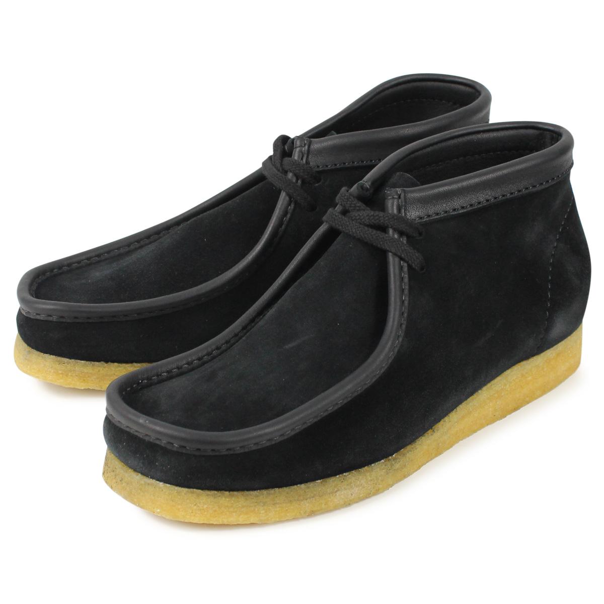 Clarks WALLABEE クラークス ワラビー ブーツ メンズ ブラック 黒 26134611