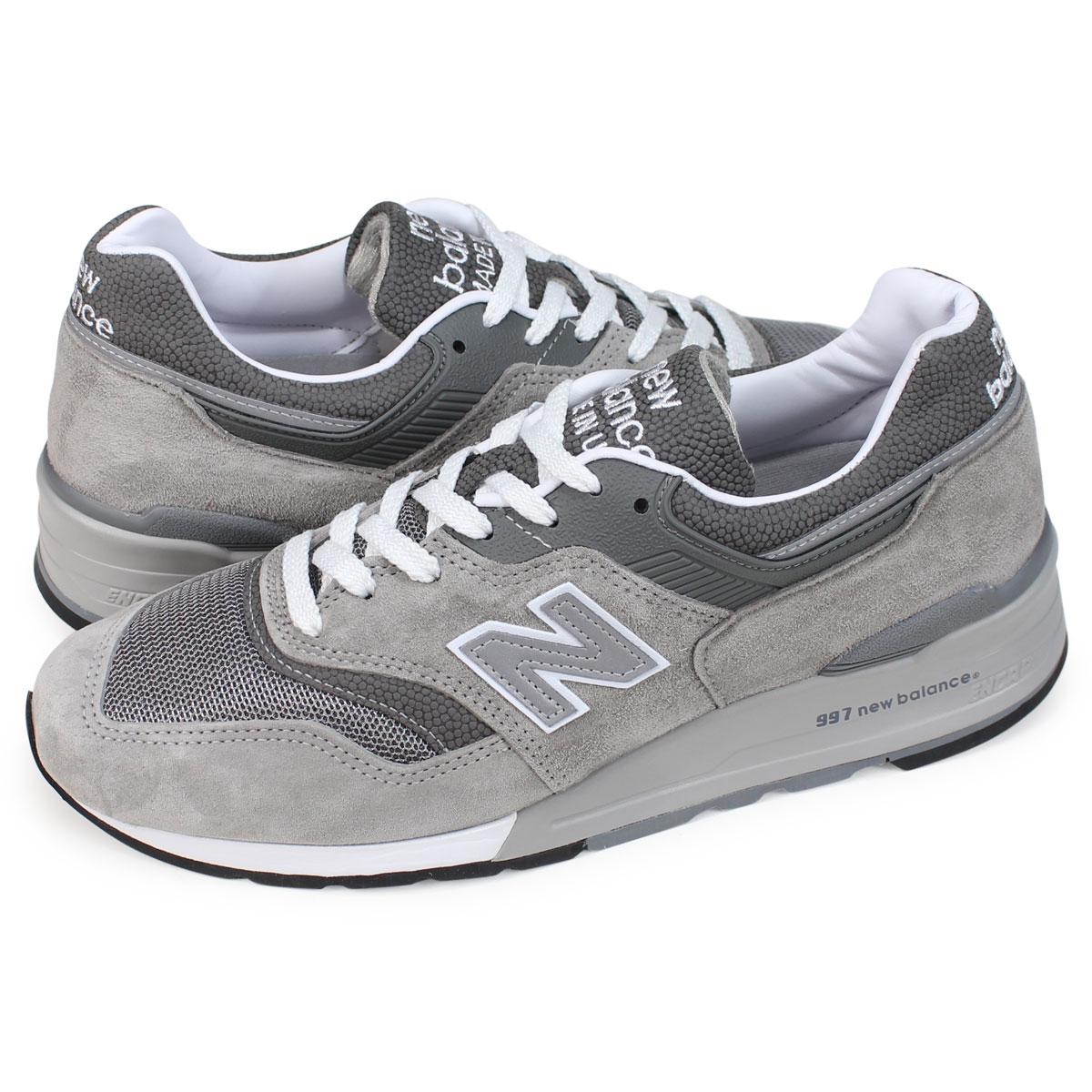 new balance 997 gray