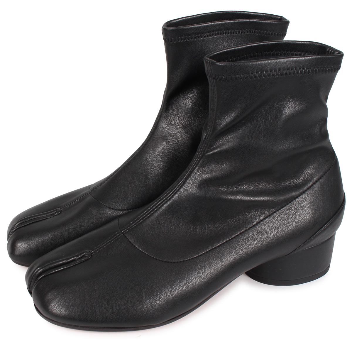 MAISON MARGIELA TABI ANKLE BOOT メゾンマルジェラ タビ アンクル ブーツ ブーツ ショートブーツ レディース ブラック 黒 S58WU0270 [4/6 新入荷]