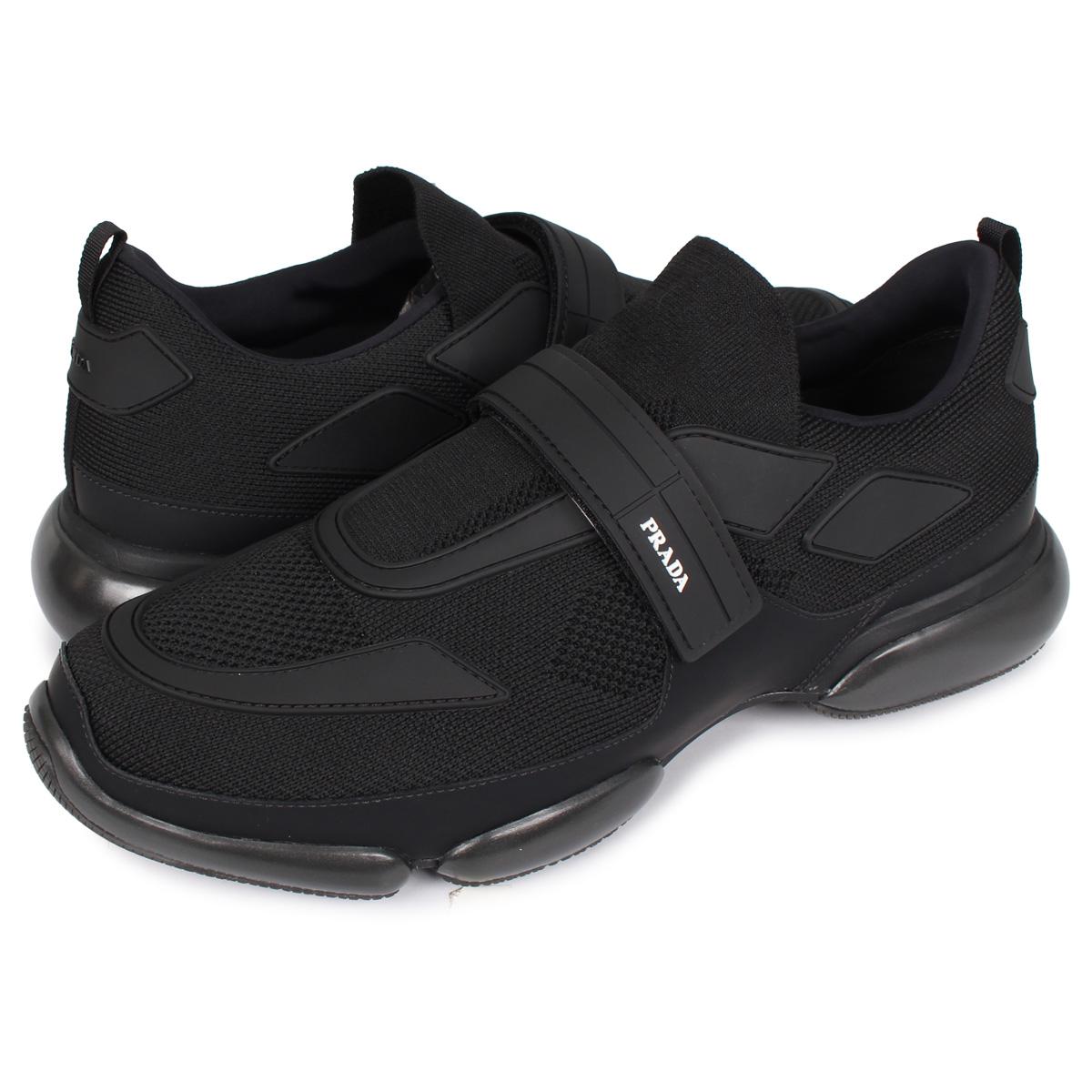 【最大2000円OFFクーポン】 PRADA CLOUD BUST CARRY OVER プラダ クラウドバスト スニーカー メンズ ブラック 黒 2OG064