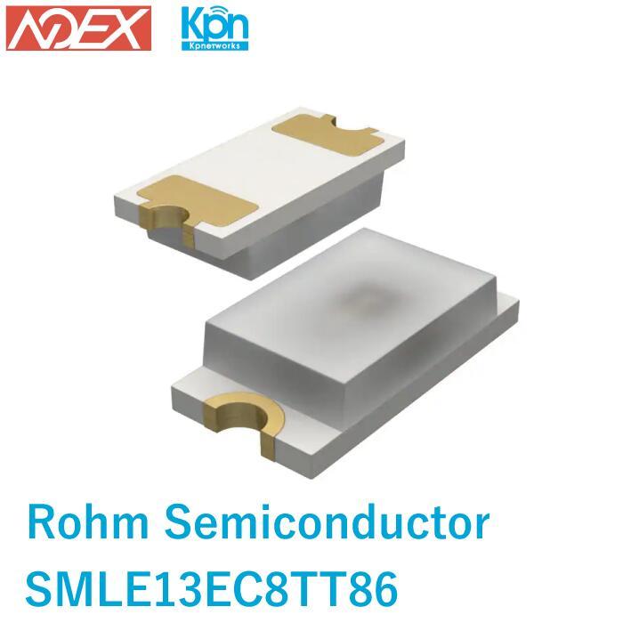 在庫処分特価 SMLE13EC8TT86 ROHM Semiconductor 青緑 527nm LED表示 定価の67%OFF 3V ディスクリート オーバーのアイテム取扱☆ 電子部品 - 0603 1608メートル法