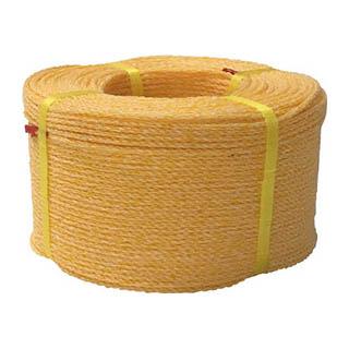 【 ロープ 】 ユタカ ロープ KPロープ巻物 3φ×200m K3-200