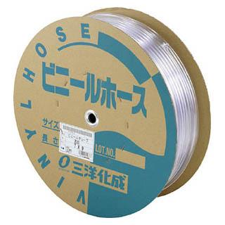 サンヨー 透明ホース15×20 50mドラム巻 TM-1520D50T