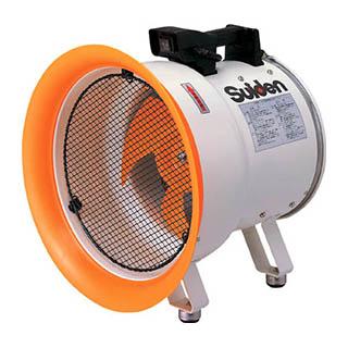 スイデン 送風機(軸流ファン)ハネ300mm3相200V低騒音省エネ SJF-300L-3