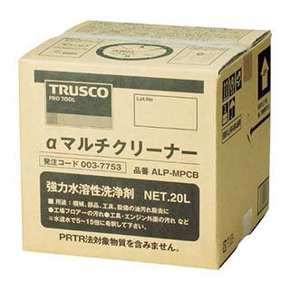 TRUSCO αマルチクリーナー 20L ALP-MPCB