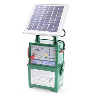 電柵アニマルキラー ソーラータイプ TAK-4300DC2-SL ( 防獣用品 )