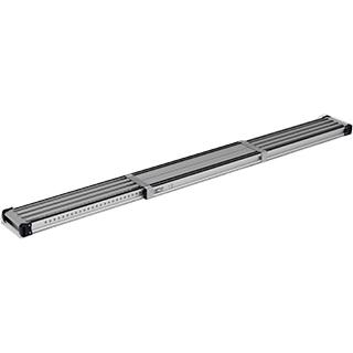作業スペースに合わせて調整できる伸縮式足場板 アルインコ 滑り止めラバー付伸縮式足場板 VSSR400H