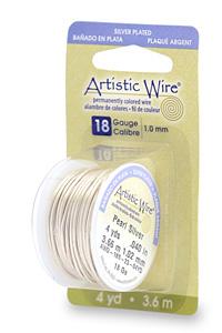 付与 Artistic Wire パールシルバー#18 1.0 売り込み ×約3.6M