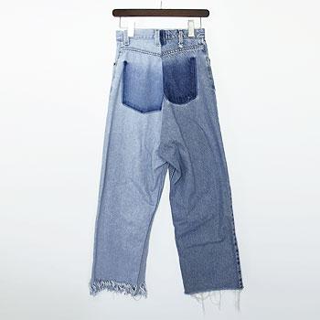 【ナナナナサーカ / 77circa】フリンジデニムパンツ circa make fringe denim pants【送料無料】【p10】【クーポン利用可w200】