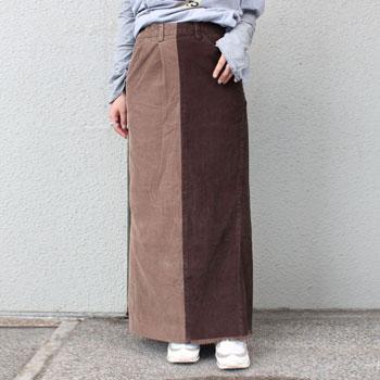 【ナナナナサーカ / 77circa】ロングコーデュロイスカート circa make long corduroy skirt【送料無料】【p10】【クーポン利用可w200】