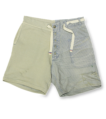 【エフィレボル/.efilevol】Marin×Hickory Short Pants【送料無料】【あす楽対応】