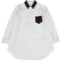 【エフィレボル/.efilevol】Regimental stripe Cleric Shirt(Men's) レジメンタルストライプクレリックシャツ(メンズ)【送料無料】【あす楽対応】【p20】