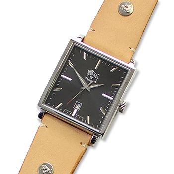 【イルビゾンテ IL BISONTE 腕時計】スクエアフェイス(メンズ)オリジナルレザーバンドセット[商品番号_5442404697set]【送料無料】【あす楽対応】【腕時計 文字盤バンドセット】