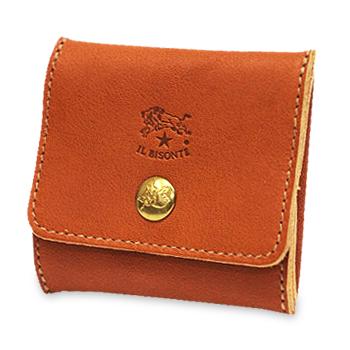 【イルビゾンテ IL BISONTE 財布】フラットスクエアコインケース[商品番号_5412300241]【送料無料】【財布 コインケース】