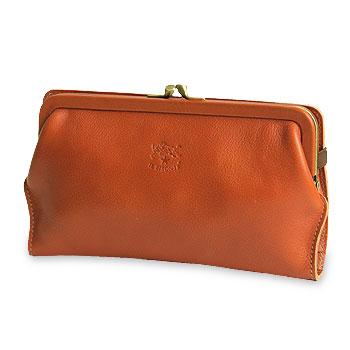 【イルビゾンテ IL BISONTE 財布】がま口長財布(M)[商品番号_5482305195]【送料無料】【あす楽対応】【財布 がま口財布 長財布】