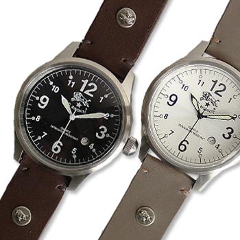 【イルビゾンテ IL BISONTE 腕時計】ラウンドフェイス(メンズ) オリジナルレザーバンドセット[商品番号_5422310597set]【送料無料】【あす楽対応】【腕時計 文字盤バンドセット】