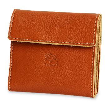 【イルビゾンテ IL BISONTE 財布】スクエアレザーウォレット  [商品番号_411465]【送料無料】【あす楽対応】【財布 二つ折り財布】