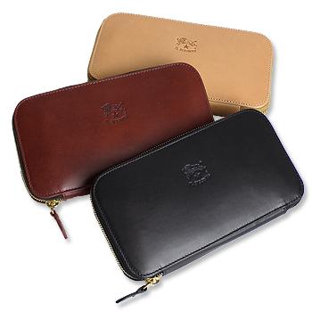 イルビゾンテ IL BISONTE 財布 バケッタスムースラウンドジップ長財布 横型商品番号 54162307740OkiuPXZ